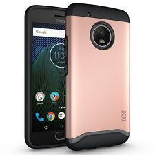 TUDIA Slim-Fit MERGE Dual Layer Protective Cover Case for Motorola Moto G5 Plus
