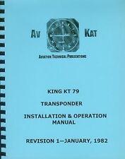 KING KT 79  TRANSPONDER  INSTALLATION  MANUAL