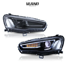 LED Headlights 2008-2017 For Mitsubishi Lancer / EVO X LED Projector Headlights