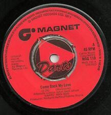 DARTS - COME BACK MY LOVE/NAFF OFF - MAGNET 1977- ORIGINAL 70s ROCK 'N' ROLL POP