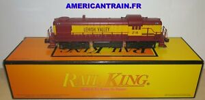 Locomotive Diesel RS-3 Lehigh Valley 3 rails échelle O MTH
