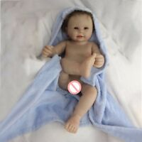 "20"" Full Body Soft Silicone Vinyl Reborn Baby Boy Doll Newborn 100% Waterproof"
