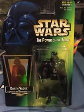 Darth Vader Star Wars POTF2 Power Of The Force 1997 MOC With Holo Sith .01 RARE