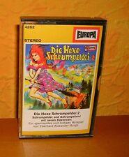 MC Hörspiel Die Hexe Schrumpeldei 2 1.Auflage Kassette
