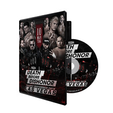 Official ROH Ring of Honor - Death Before Dishonor 2018 Event DVD