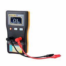Signstek Mesr 100 V2 Auto Ranging In Circuit Esr Lcr Meter Capacitorlow Ohm Mete