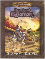KINGDOMS of KALAMAR: STAND AND DELIVER - D&D d20 Rpg Adventure Module