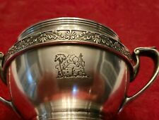 Raphael Hotel Chicago Il Silver 7oz Sugar Bowl by Reed and Barton