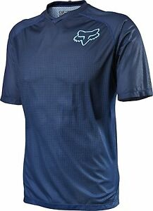 Fox Racing Flow s/s Jersey Blue