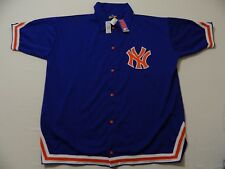 M74 New MITCHELL & NESS New York Knicks Snap Front Warmup Jacket Jersey MEN'S 54