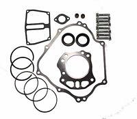 KAWASAKI MULE 600 / 610 ENGINE REPAIR / REBUILD GASKETS KIT W/ RINGS & SEALS