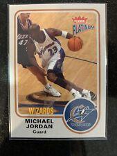 2002-03 Fleer Platinum Michael Jordan #91 Base Card Washington Wizards HOF GOAT