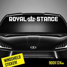 ROYAL STANCE Windshield TOP JDM Sticker Car  #WTOP0020