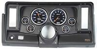 "69-76 Nova Black Dash Carrier w/ Auto Meter Cobalt 5"" Gauges"