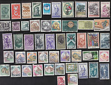 50 All Different ITALY PICS & COMMS Stamps (J)