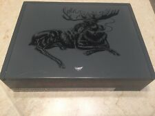 Foundry Chillin Moose red eye moose smoking unique Wood Wooden Cigar Box corona