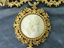 VINTAGE SHOWSTOPPING NETTIE ROSENSTEIN NEOCLASSICAL NECKLACE