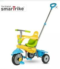 smarTrike Lollipop, 3-in-1 Toddler Tricycle 15M+ - Yellow-Green-Blue. New
