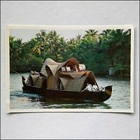 Back Waters Kerala 2006 Postcard (P432)