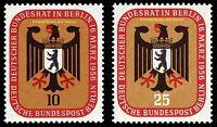 EBS Berlin 1956 Bundesrat in Berlin Michel 136-137 MNH**