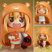 "Himouto Umaru-chan Doma Umaru 4"" Nendoroid Anime Action Figure Set New"