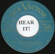 The Three Suns XMAS POP INSTRO 45 (RCA 3057) Sant Claus Is Comin' To Town/Adeste