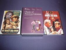 Teaching Co Great Courses DVDs    CLASSICS of  AMERICAN LITERATURE   new + BONUS