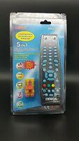 Omega 23104 Universal 4 in 1 Remote Control for Sky TV DVD VCR Multi Brand Black