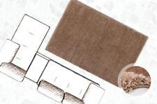 Tappeti beige in poliestere a pelo lungo per la casa