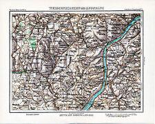 Weißenkirchen Aggsbach Poggstall 1896 kl. orig. Peip-Karte Schönbichl Weiten