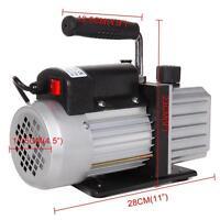 Single Stage 2.5CFM 1/4HP Rotary Vane Deep Refrigeration Vacuum Pump EU Plug