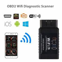 Top ELM327 WIFI OBD2 OBDII Auto Car Diagnostic Scanner Scan Tool for iOS Android