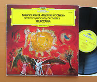 DG 2530 563 Ravel Daphnis Et Chloe Seiji Ozawa Boston Symphony 1975 NM/EX