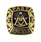 T56 Past Master Rocker Ring Masonic Blue Lodge Mason Noble Square Compass