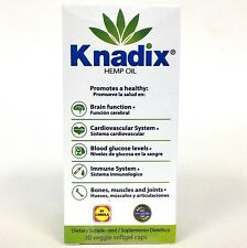 1 KNADIX HEMP OIL DIETARY SUPPLEMENT 30 CAPS / KNADIX SUPLEMENTO DIETETICO 30 CA
