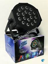 RGB Multi-Colored LED Par Flood DMX Stage Light DJ Dance Party Lighting Effect
