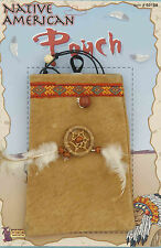 Native American Pouch Indian Purse Pocahontas Costume Accessory