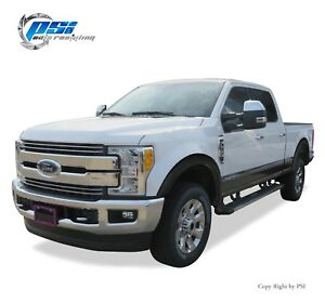 Black Textured OE Style Fender Flares 17- 20 Ford F-250, F-350 Super Duty