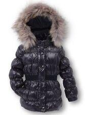 Mädchen-Winterjacken mit Kapuze aus Mischgewebe