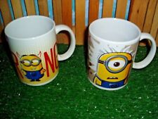 DESPICABLE ME COFFEE CUPS - SET OF TWO - NEW