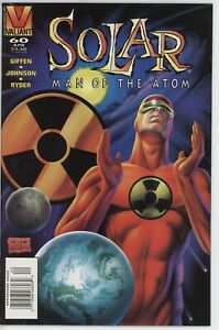 Valiant Comics Solar 60 Newsstand Variant Last Issue  VF+/NM-  1996 comic book