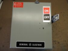 AC362RG, GE BUSWAY SWITCH PLUG, RECON 60 AMP, 600V, WITH GROUND