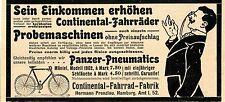 Hermann Prenzlau Hamburg CONTINENTAL-FAHRRAD-FABRIK Historische Annonce 1902