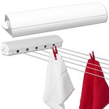 Wäschetrockner Wäscheleine Wandtrockner ausziehbar automatisch Wand 5 Leinen 21m