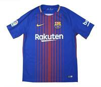 Barcelona 2017-18 Authentic Home Shirt (Excellent) M Soccer Jersey