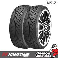2 x Nankang NS-2 Performance Car Tyres 195 45 15 78V Extra Load 1954515