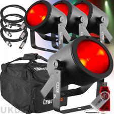 Chauvet DJ COREpar 40 Watt LED COB Par USB 40W RGB Parcan Spot Light Stage Kit