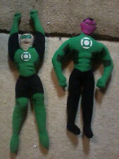 "2011 Toy Factory DC Comics Green Lantern and Sinestro lot Plush Toy -- used 18""!"