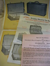 1929 SEWARD TRUNK & BAG Co., LUGGAGE, SUITCASE, BAG 15pg BROCHURE & PRICE LIST