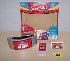 New 2011 Hasbro Scrabble Turbo Slam Card Slapping Word Building Fun